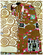Fulfillment, Gustav Klimt