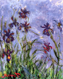 Irises, Claude Monet
