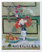 Still Life, Flowers and Fruit, Henri Matisse